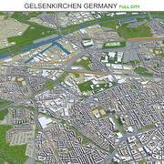 Città di Gelsenkirchen in Germania 3d model