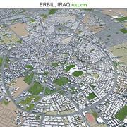 Erbil City im Irak 3d model