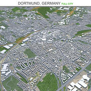 Дортмунд в Германии 3d model