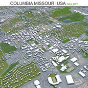 Колумбия, штат Миссури, США 3d model
