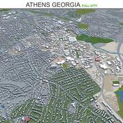 Athens City Gürcistan 3d model