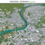Дрезден в Германии 3d model
