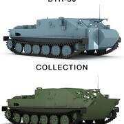 BTR-50 collection 3d model