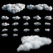 Cloud Pack VDB 27VDBs tworzone dynamicznie 3d model