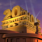 20th Century FOX Studios Set Animazione 3d model