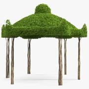 ガーデン小枝ガゼボ 3d model