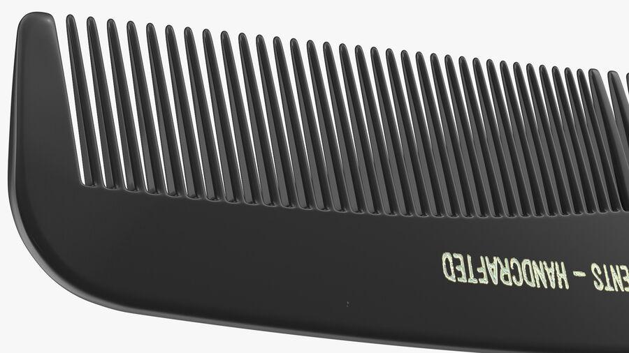 Pocket Comb Black royalty-free 3d model - Preview no. 9