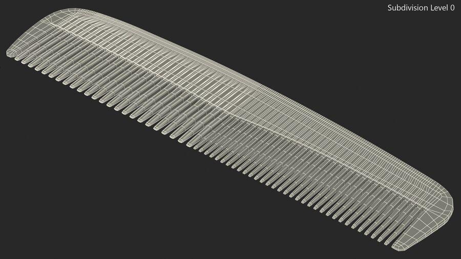 Pocket Comb Black royalty-free 3d model - Preview no. 11