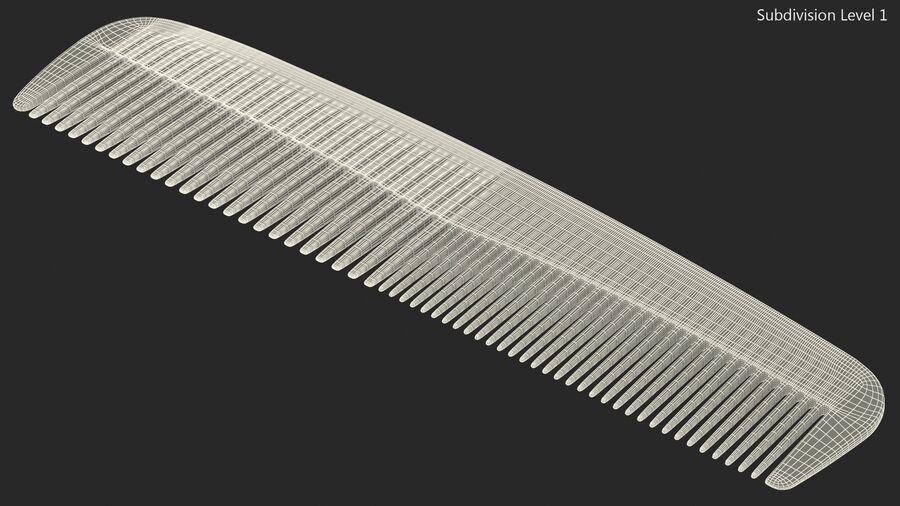 Pocket Comb Black royalty-free 3d model - Preview no. 12