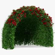 Rose Garden Gazebo 3d model