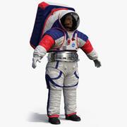 Ruimtepak NASA Astronaut Artemis xEMU 3d model