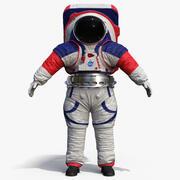 Spacesuit NASA xEMU 3d model
