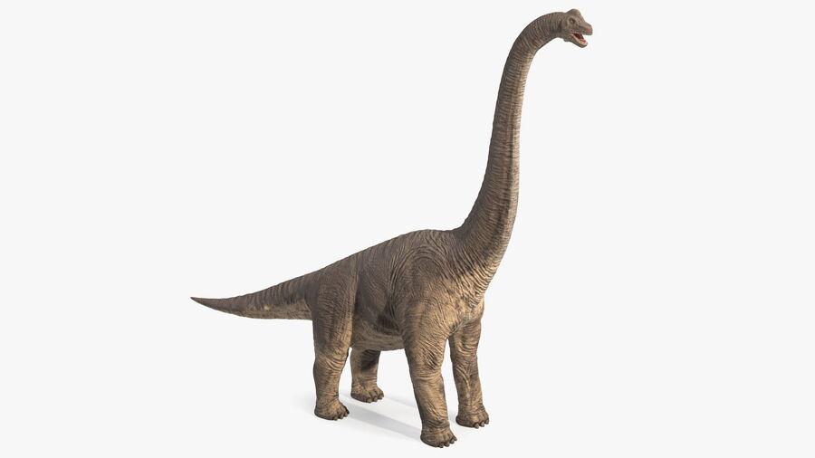 Brachiosaurus Altithorax aparejado royalty-free modelo 3d - Preview no. 12