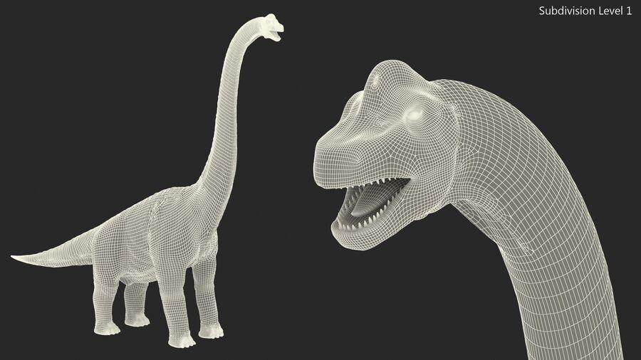 Brachiosaurus Altithorax aparejado royalty-free modelo 3d - Preview no. 25