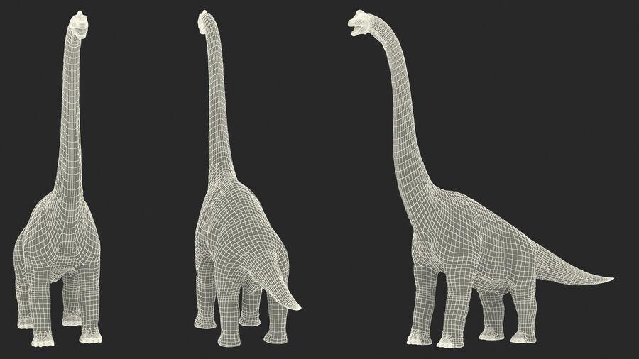 Brachiosaurus Altithorax aparejado royalty-free modelo 3d - Preview no. 29