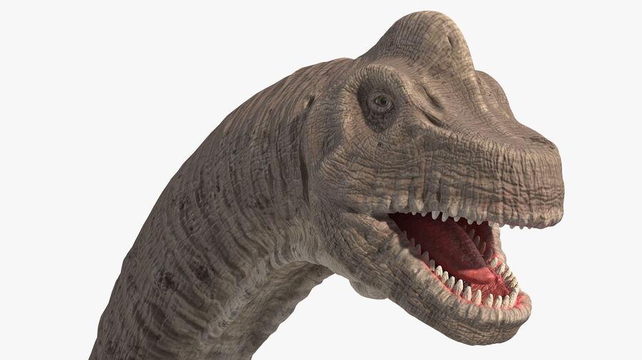 Brachiosaurus Altithorax aparejado royalty-free modelo 3d - Preview no. 15