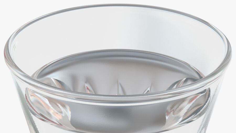 Faceted Glass of Vodka royalty-free 3d model - Preview no. 10
