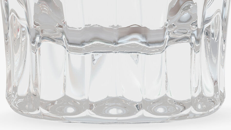 Faceted Glass of Vodka royalty-free 3d model - Preview no. 11