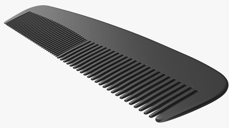 Baxter of California Pocket Comb Black royalty-free 3d model - Preview no. 7