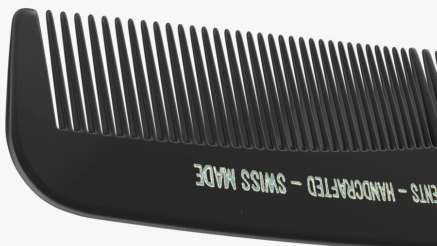 Baxter of California Pocket Comb Black royalty-free 3d model - Preview no. 9