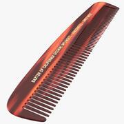 Baxter of California Pocket Comb Brown 3d model