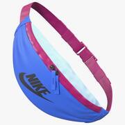 Nike Sportswear Heritage Waist Bag Blue 3d model