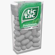 Tic Tac Freshmints Breath Mints 3d model