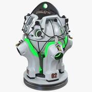Sci Fi Nuclear Reactor 3d model