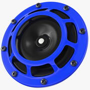 Dźwięk klaksonu samochodowego 500 Hz 3d model