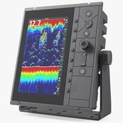 Эхолот для эхолота с ЖК-дисплеем 3d model