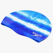 Speedo防水泳帽蓝色 3d model