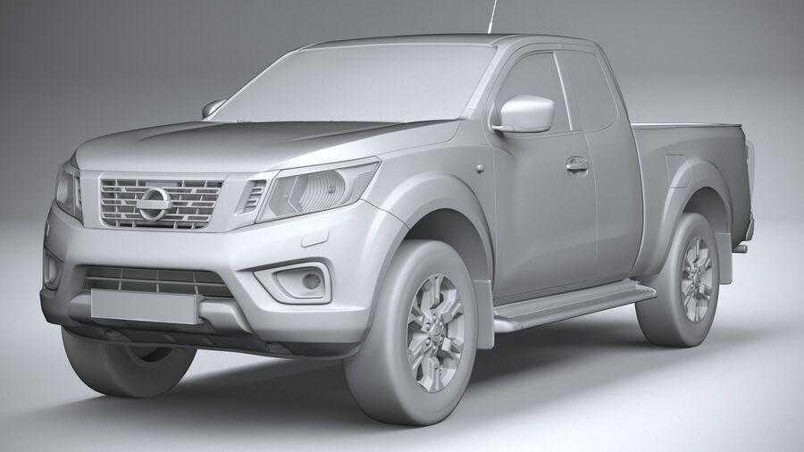Nissan Navara 2020 royalty-free 3d model - Preview no. 21
