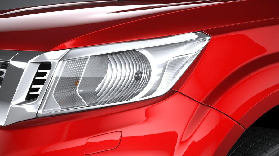 Nissan Navara 2020 royalty-free 3d model - Preview no. 15