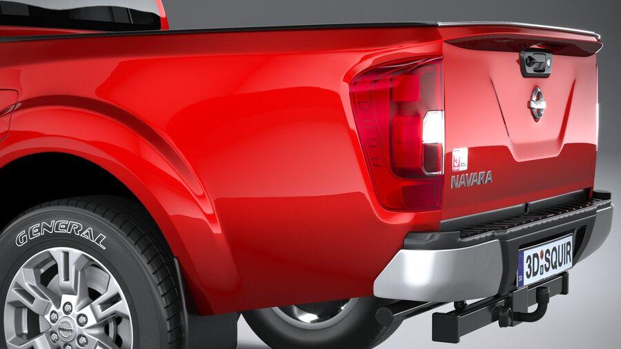 Nissan Navara 2020 royalty-free 3d model - Preview no. 7