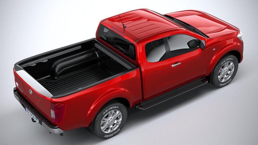 Nissan Navara 2020 royalty-free 3d model - Preview no. 11