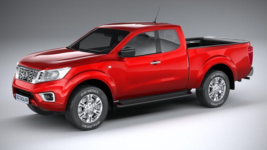 Nissan Navara 2020 royalty-free 3d model - Preview no. 1