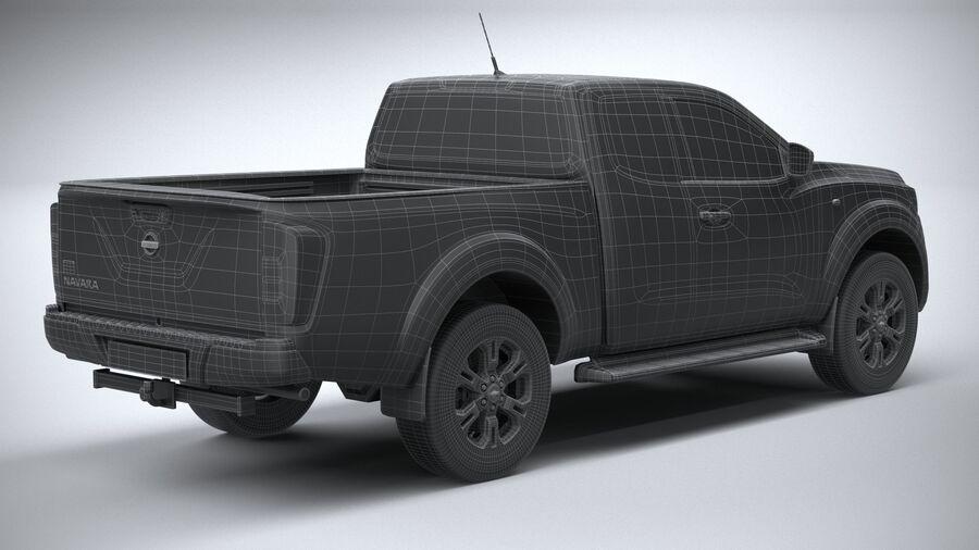 Nissan Navara 2020 royalty-free 3d model - Preview no. 30