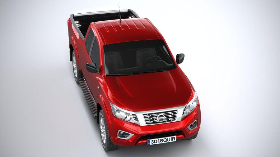 Nissan Navara 2020 royalty-free 3d model - Preview no. 13