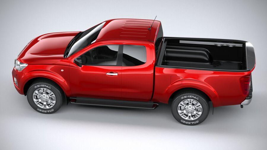 Nissan Navara 2020 royalty-free 3d model - Preview no. 10