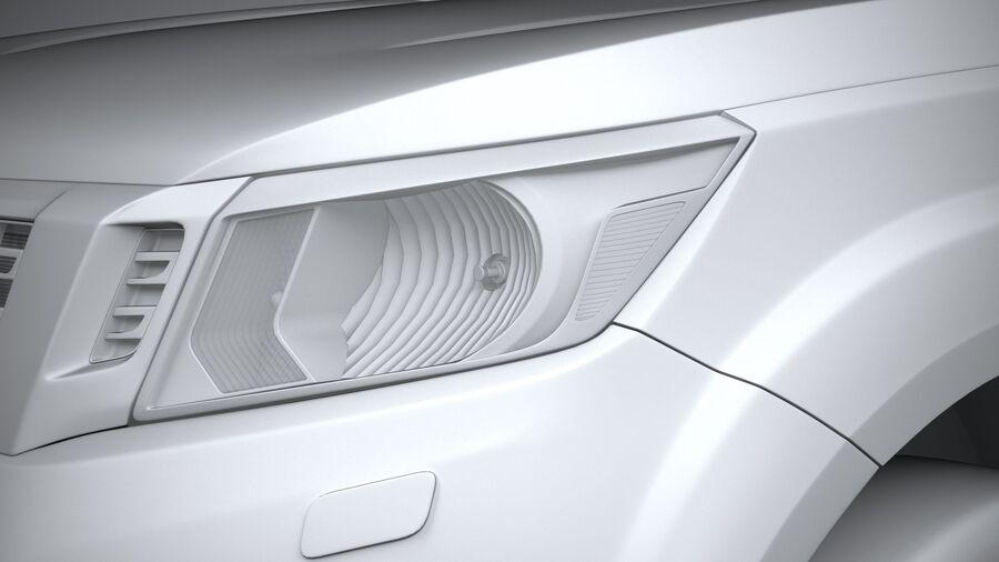 Nissan Navara 2020 royalty-free 3d model - Preview no. 24