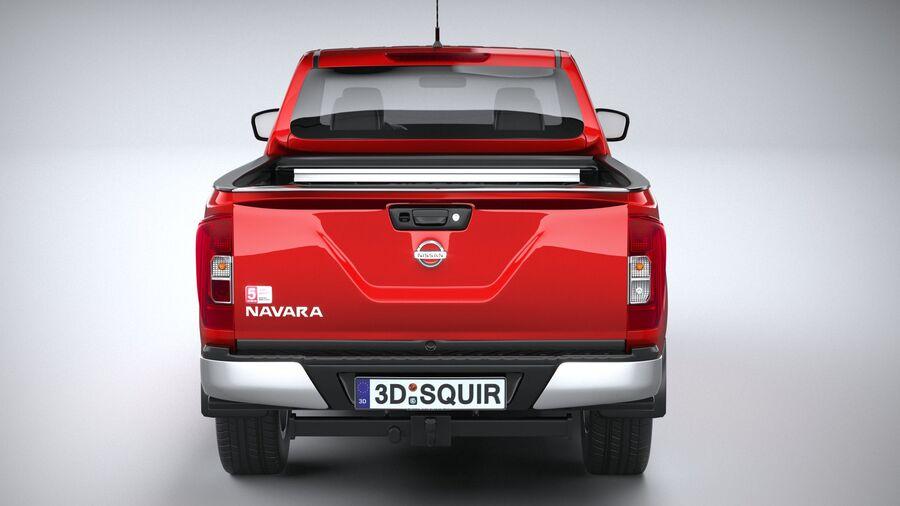 Nissan Navara 2020 royalty-free 3d model - Preview no. 5