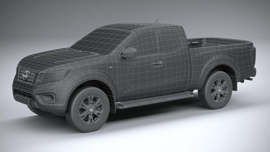 Nissan Navara 2020 royalty-free 3d model - Preview no. 29