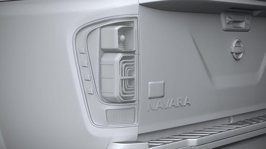 Nissan Navara 2020 royalty-free 3d model - Preview no. 25