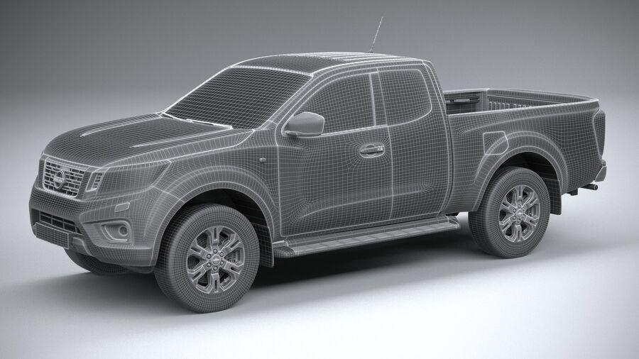 Nissan Navara 2020 royalty-free 3d model - Preview no. 27
