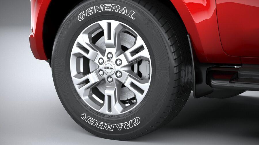 Nissan Navara 2020 royalty-free 3d model - Preview no. 17