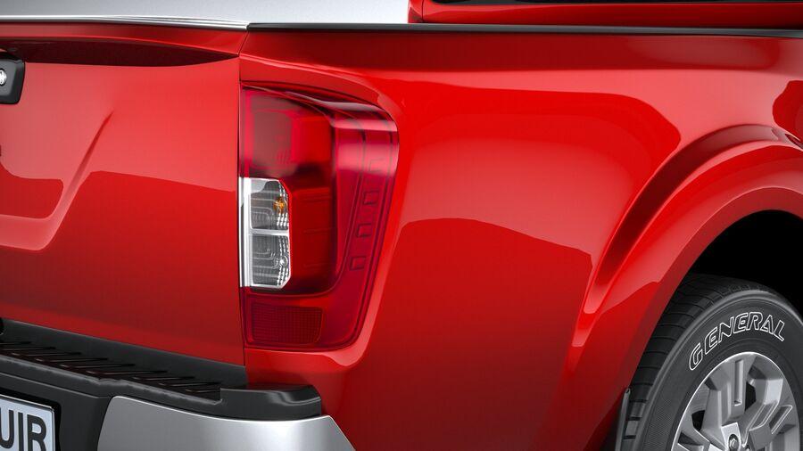 Nissan Navara 2020 royalty-free 3d model - Preview no. 19