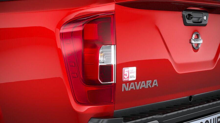 Nissan Navara 2020 royalty-free 3d model - Preview no. 16