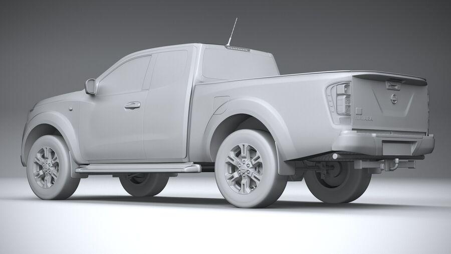 Nissan Navara 2020 royalty-free 3d model - Preview no. 22