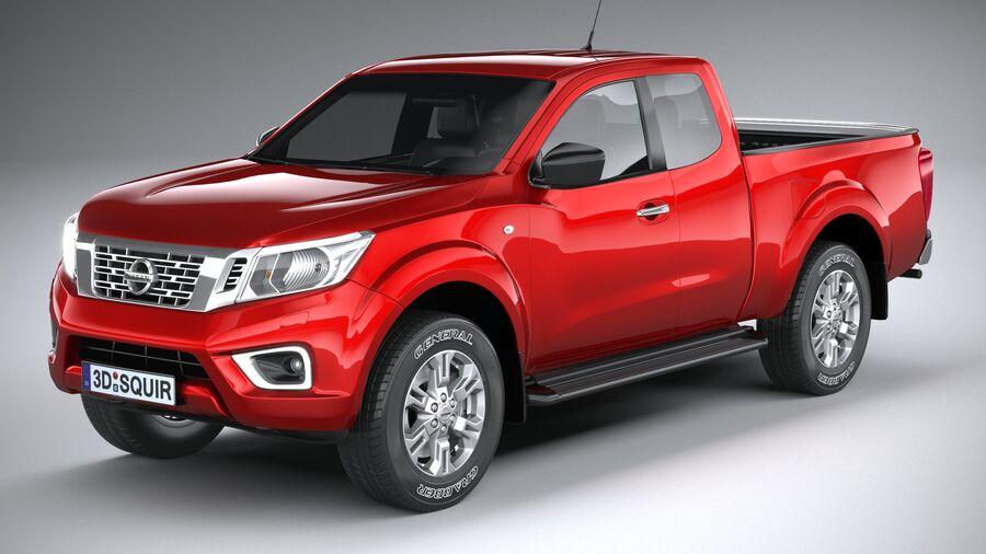 Nissan Navara 2020 royalty-free 3d model - Preview no. 2