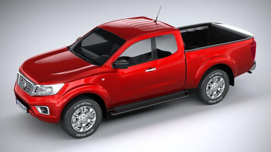 Nissan Navara 2020 royalty-free 3d model - Preview no. 8